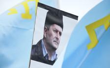 <p>Акция поддержки меджлиса крымско-татарского народа</p>  <p></p>