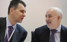 <p>Михаил Прохоров (слева) и ВикторВексельберг</p>  <p></p>