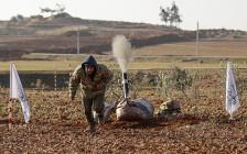 <p>Боевик недалекоотсирийского города Аль-Баб. 7 января 2017 года</p>