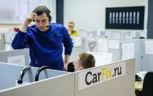<p>Желающие отремонтировать машину оставляют заявку на сайте CarFix, на нее откликается менеджер проекта и помогает клиенту уточнить перечень ремонтных работ</p>  <p></p>