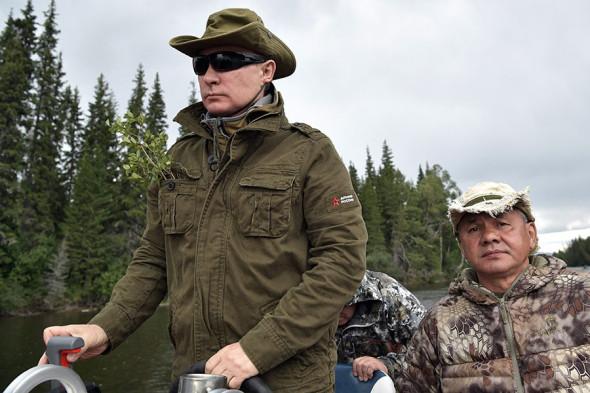 Владимир Путин и вопрос экологии