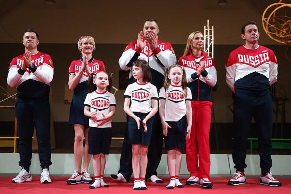В Москве представлена олимпийская форма сборной России