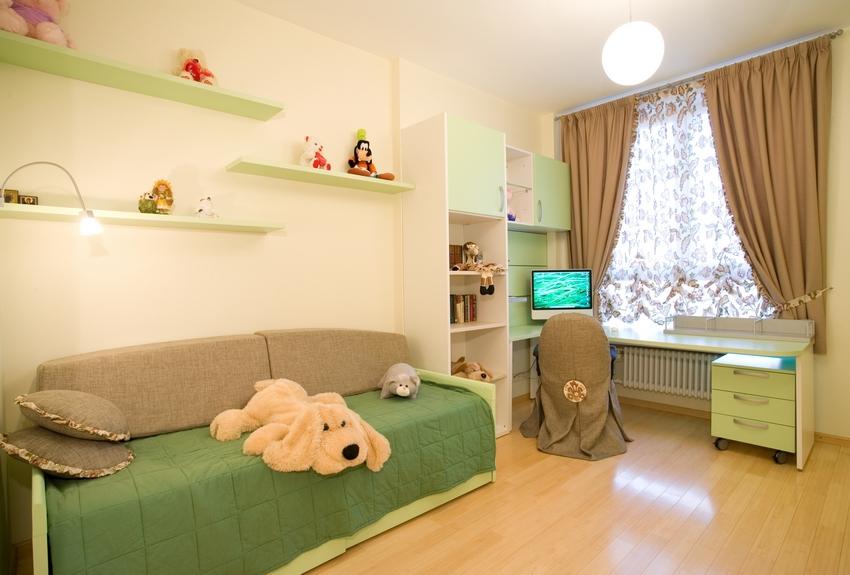 Дизайн детской комнаты 12 кв.м для подростка