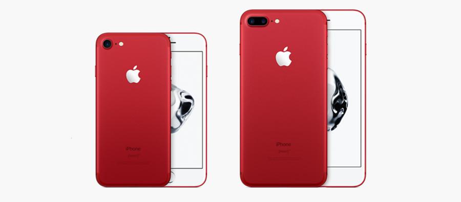 красный айфон 7s фото