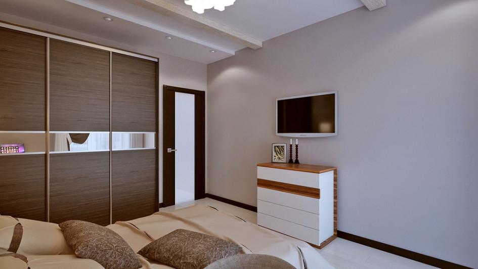 Спальни гостиная дизайн в панельных домах