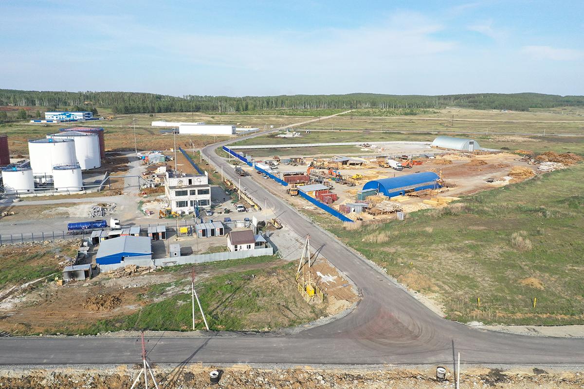 В парке уже работают 15 предприятий, 30 компаний находятся в стадии проектирования и строительства.