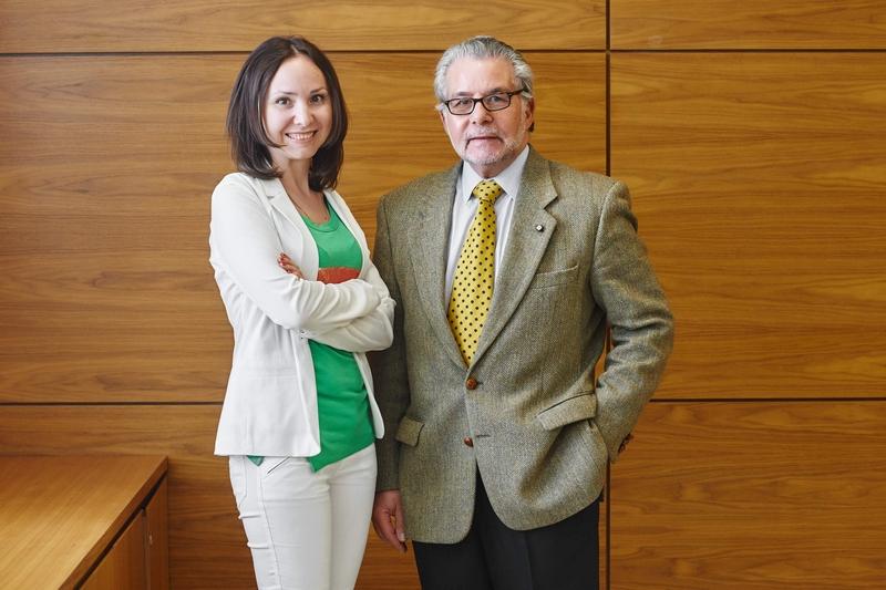 Директор по развитию компании «Иммигрант Инвест» Елена Рудая и советник Identity Malta Agency Реймонд Кассар