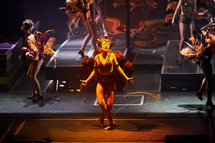Дарья Мороз в театральном ревю «Портфолио. Кастинг» (Фото: Ленинград Центр)
