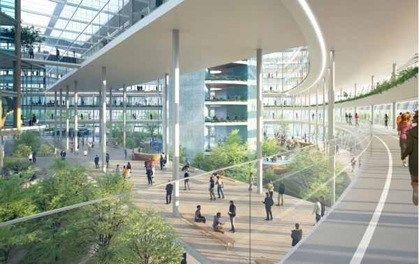 Проект архитектурного бюро Nikken sekkei