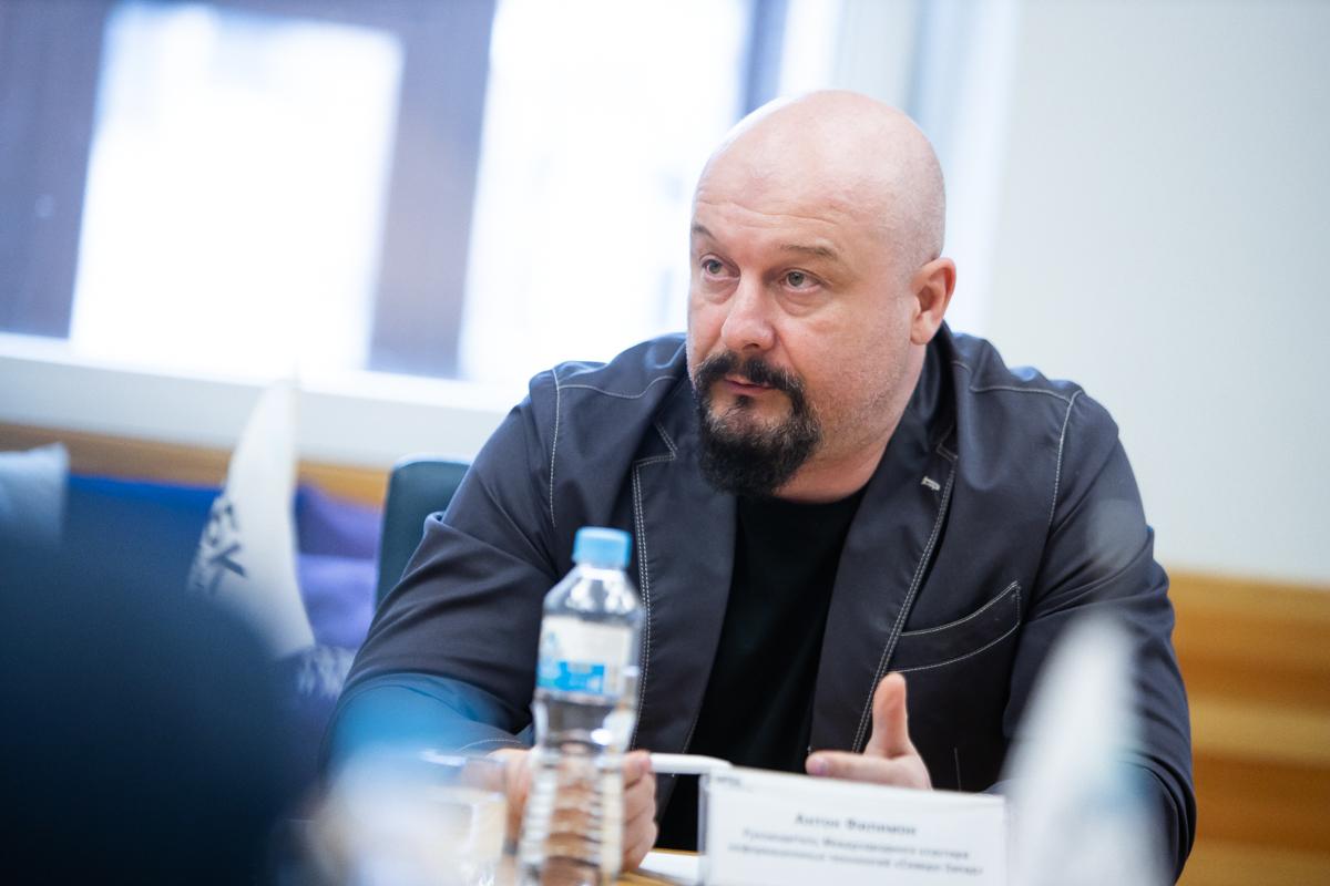 Антон Филимон, руководитель «Международного кластера информационных технологий «Северо-Запад»
