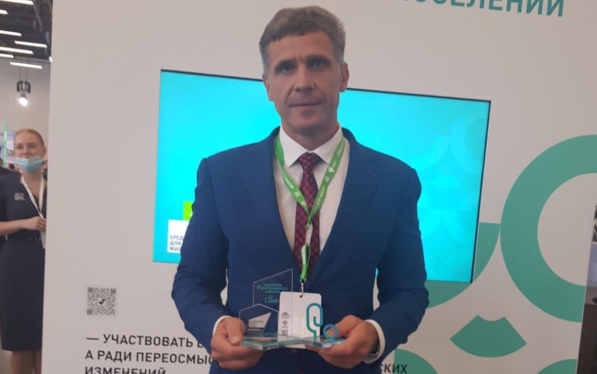 Глава города Уварово Вячеслав Денисов (Фото: пресс-служба администрации Тамбовской области)