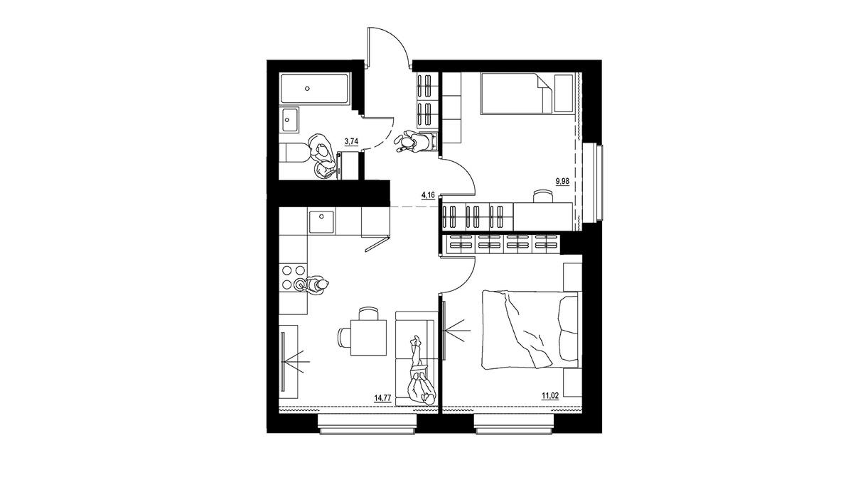 Основной запрос покупателей Солнечного на квартиры европланировки с 2-3 спальнями. Стоимость квартир с двумя спальнями — от 3,6 млн руб. за базовый вариант в 44 кв. м до 4,6 млн руб. за квартиры площадью свыше 60 квадратов. Квартиры с тремя спальнями стоят от 5,4 млн руб. за 75 кв. м до 5,8 млн руб. за 80 квадратов. Между крайними вариантами — от 5 до 10 возможных наполнений.