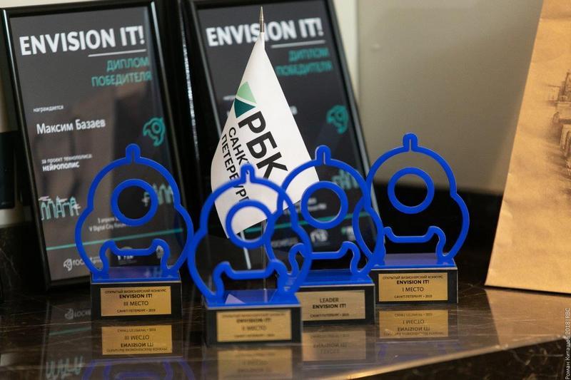 Награды для победителей первого международного молодежноговизионерского конкурса «Envision It!»