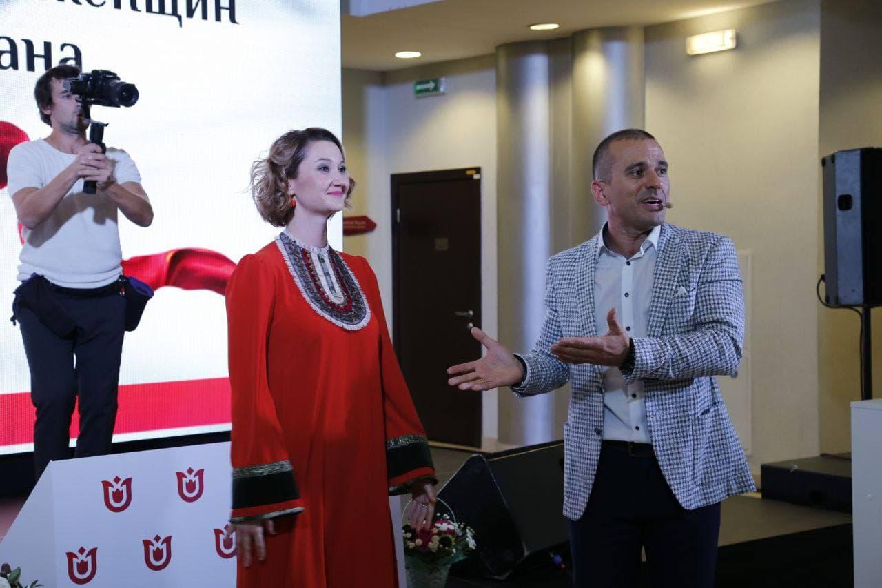 ПрезидентТатарстанскойрегиональной общественной организации «Деловые женщиныТатарстана» ЛианаБагавеева. Фото: Анна Арахамия