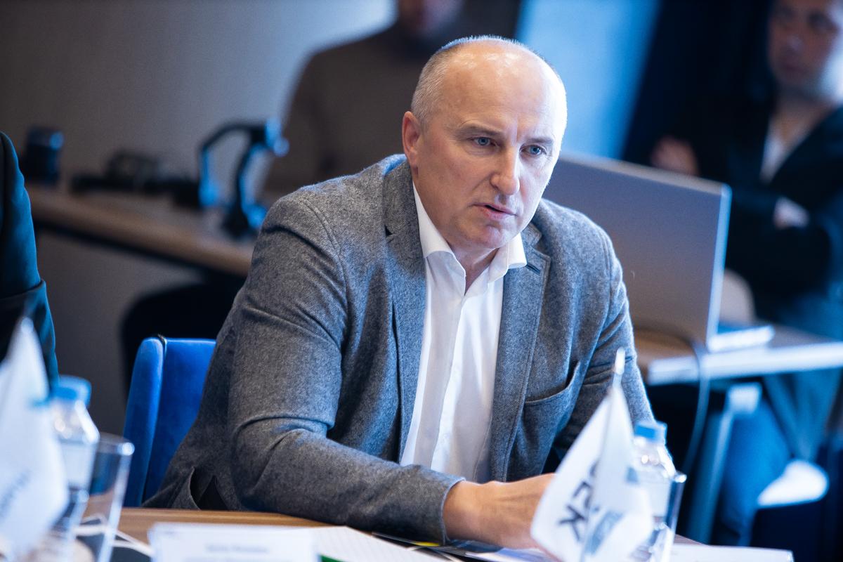 Исполнительный директор индустриального парка «Штальверк» Александр Зайцев