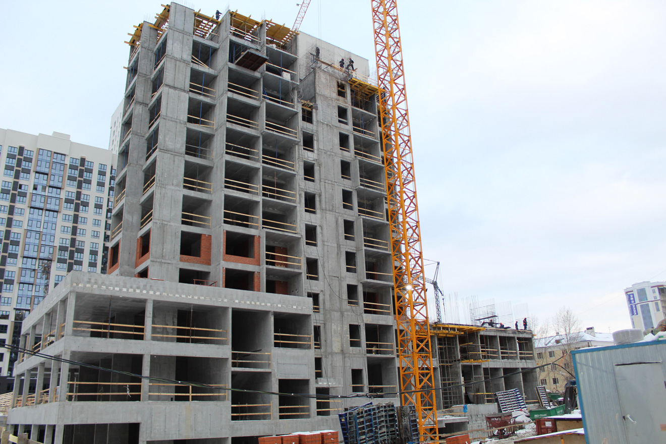 Две очереди ЖК строители сдали, третья и четвертая будут готовы в конце 2020 и 2022 гг.