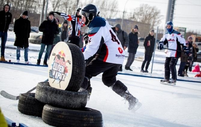 Компания Red Bull. Организация массового мероприятия на территории СФО. Турнир «Шлем и краги» — серия хоккейных мероприятий.