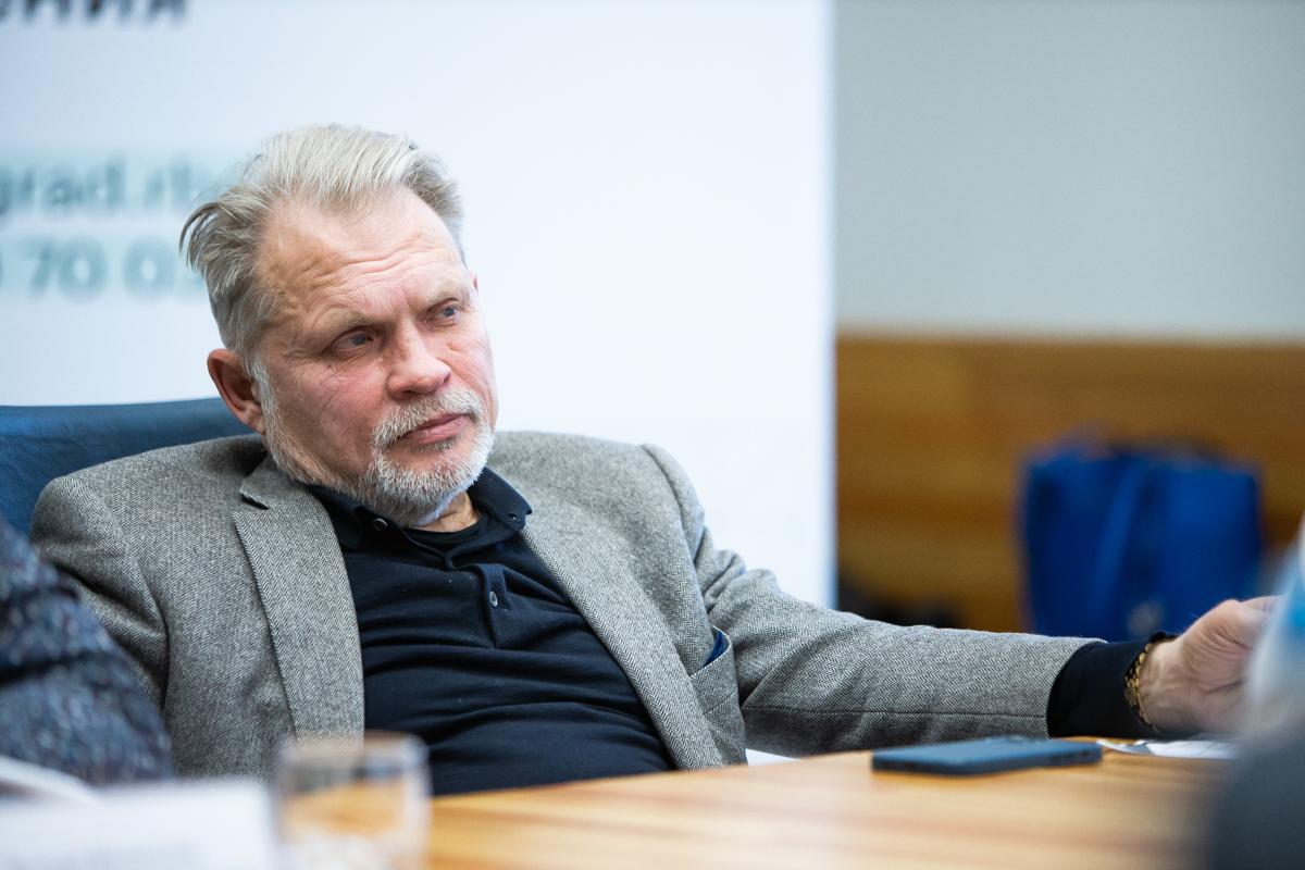 Андрей Горохов, учредитель технопарка «Экобалтик», совладелец бренда «Мирамистин»