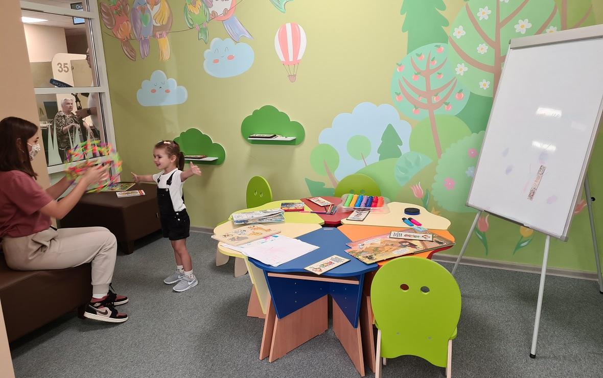 Детская зона (Фото: пресс-служба администрации Тамбовской области)