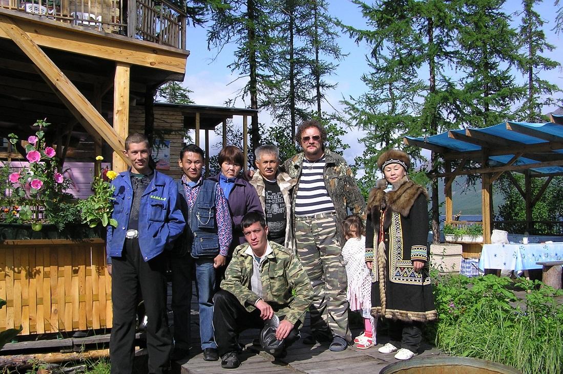 Гости базы «Бунисяк»
