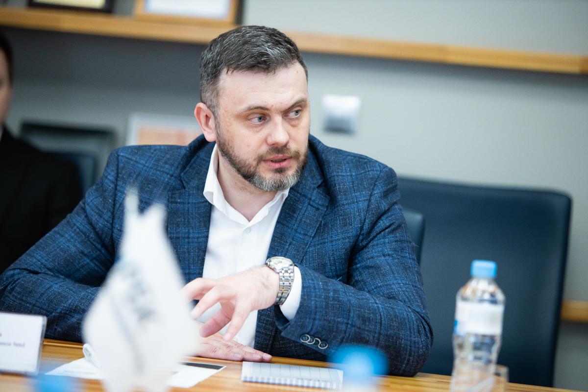 Максим Замахин, директор калининградского филиала Tele2