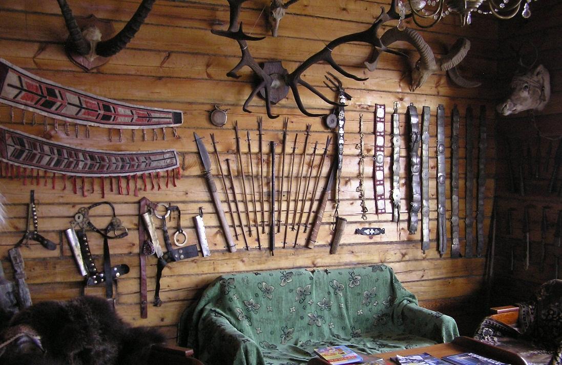 Часть экспозиции этнографического музея