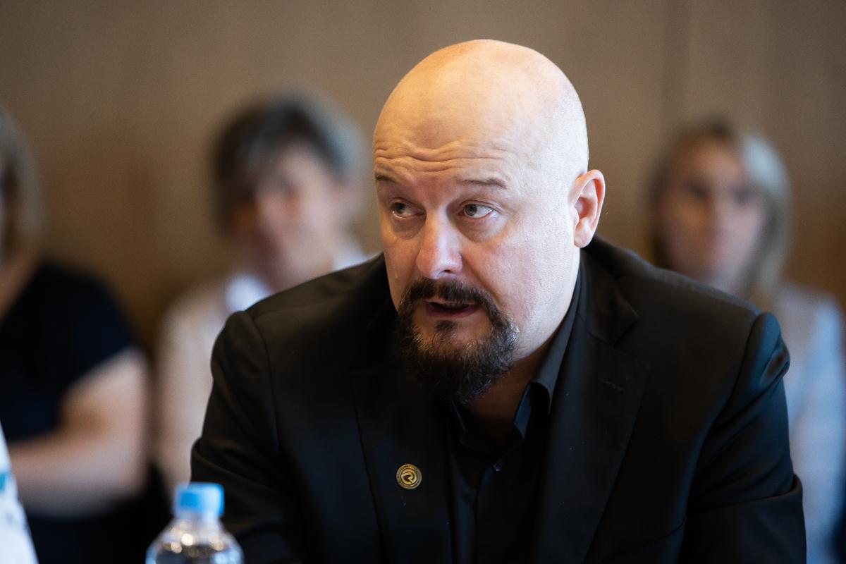 Руководитель «Международного кластера информационных технологий «Северо-Запад» Антон Филимон