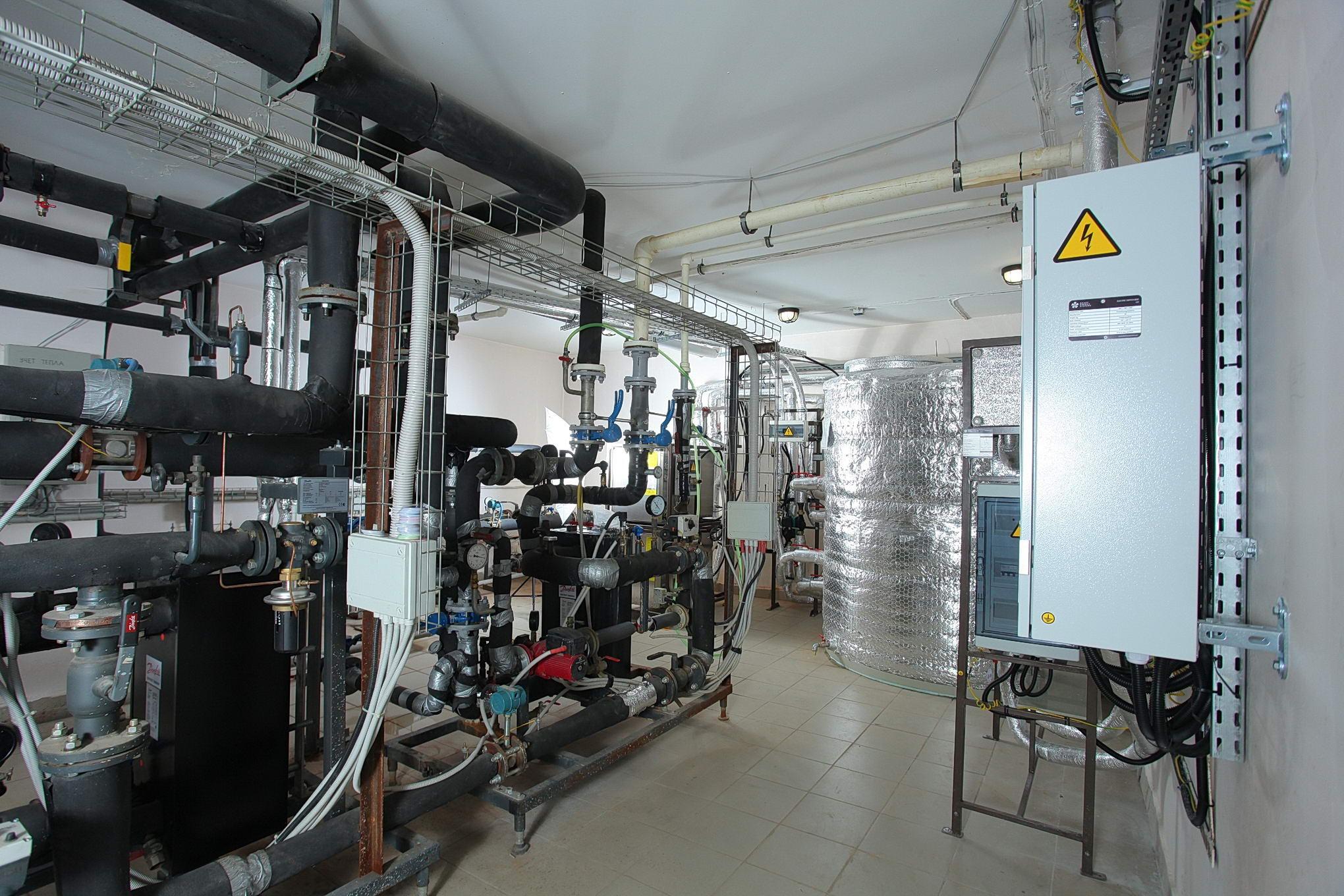 Система рекуперации тепла сточных вод. Фото предоставлено компанией «Кортрос»