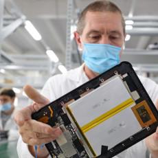Планшеты, выпускаемые на заводе «Аквариус» в городе Шуя Ивановской области, будут использовать в ходе Всероссийской переписи населения