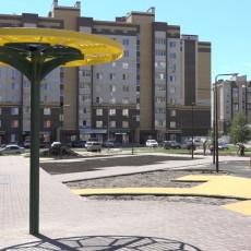 Сквер возле детсада «Подсолнух» в Тамбове  – победитель общественного голосования (Фото: управление информационной политики администрации Тамбовской области)