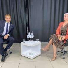 Денис Лапытов и Юлия Новикова (Фото: из личного архива)
