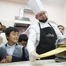 Мастер-класс шеф-повара «Иль Лаго» Дмитрия Трушкина