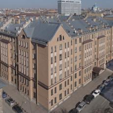 Здание Центра стандартизации и метрологии Росстандарта в Санкт-Петербурге