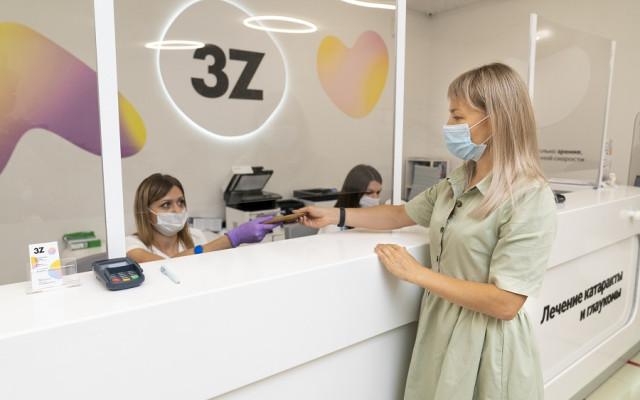 Процесс обновления интерьера клиник 3Z