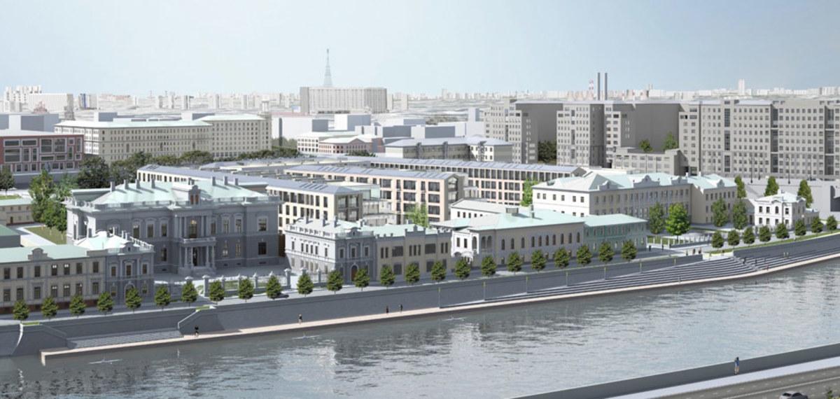 Власти Москвы согласовали финальный вариант застройки «золотого острова» :: Город :: РБК Недвижимость