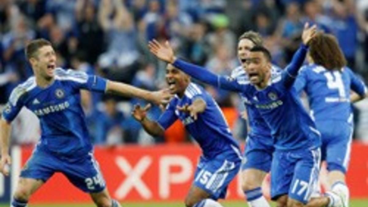 Футбол лига чемпионов финал челси бавария видео