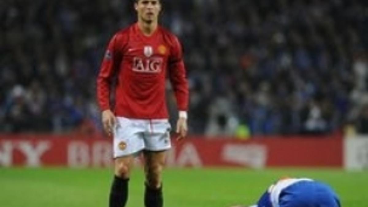 Манчестер юнайтед порту гол криштиано роналдо
