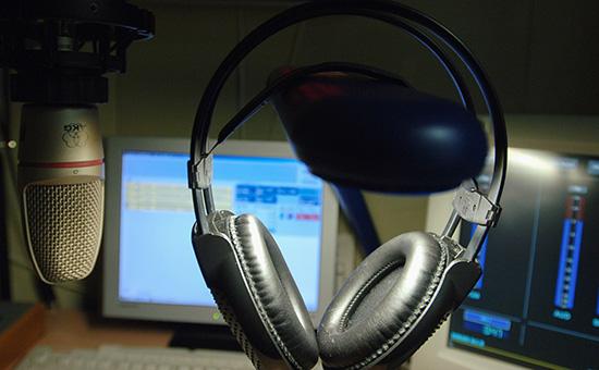 В эфирной студии «Радио Свобода»