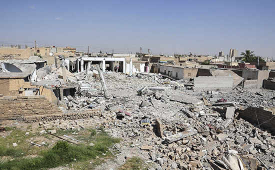 Провинция Ракка. Архивное фото