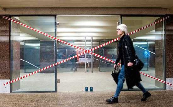 Новые торговые галереи в переходе станции метровМоскве