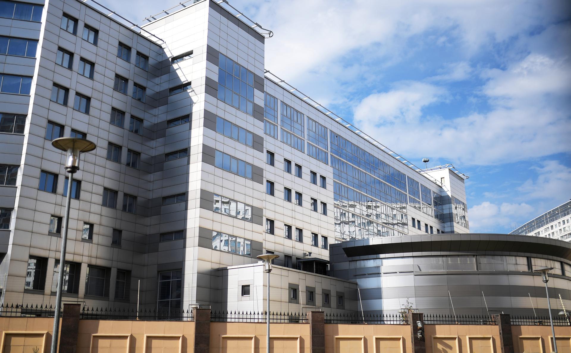 Здания Главного управления Генштаба ВС РФ в Москве