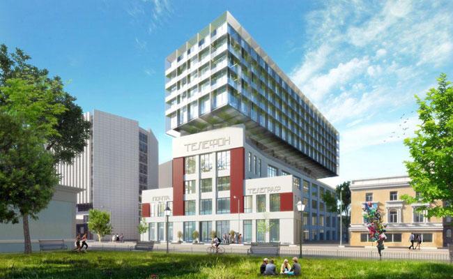 Проект реконструкции здания АТС