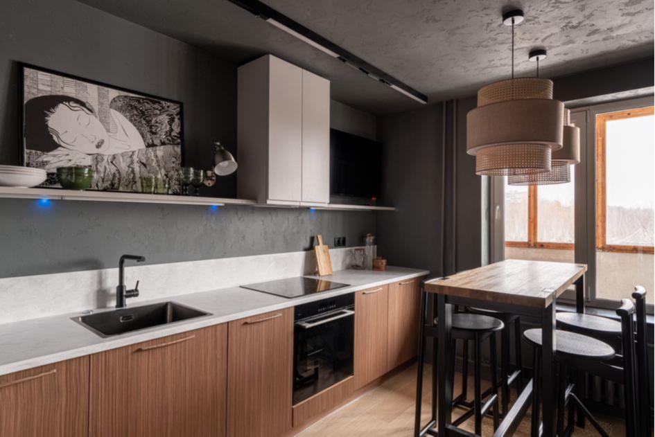 Кухня в стиле ваби-саби