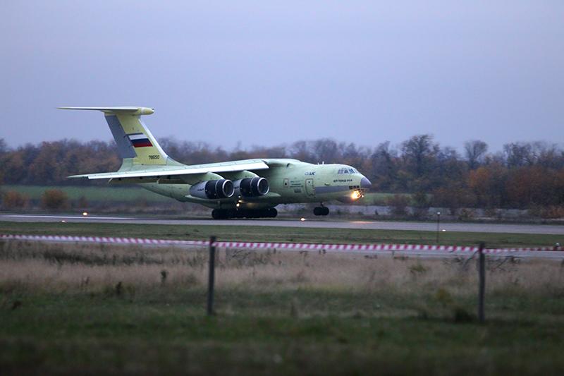 Военно-транспортный самолет ИЛ-76МД-90А, 2012 год