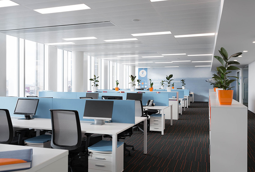 Рабочий open space
