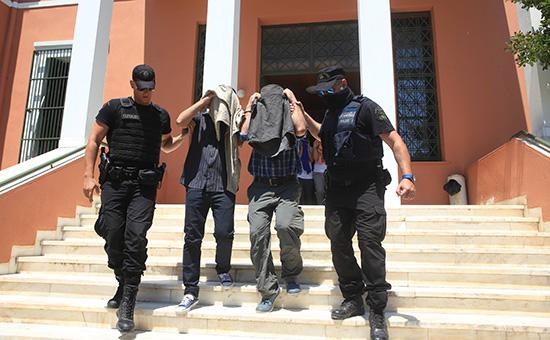 В Греции начался суд вотношениивосьми турецких военных, прилетевших вАлександруполис навертолете послепопытки переворота вТурции