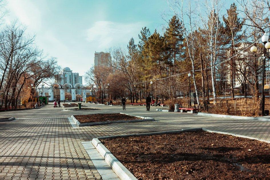 Хабаровск. Парк «Динамо»