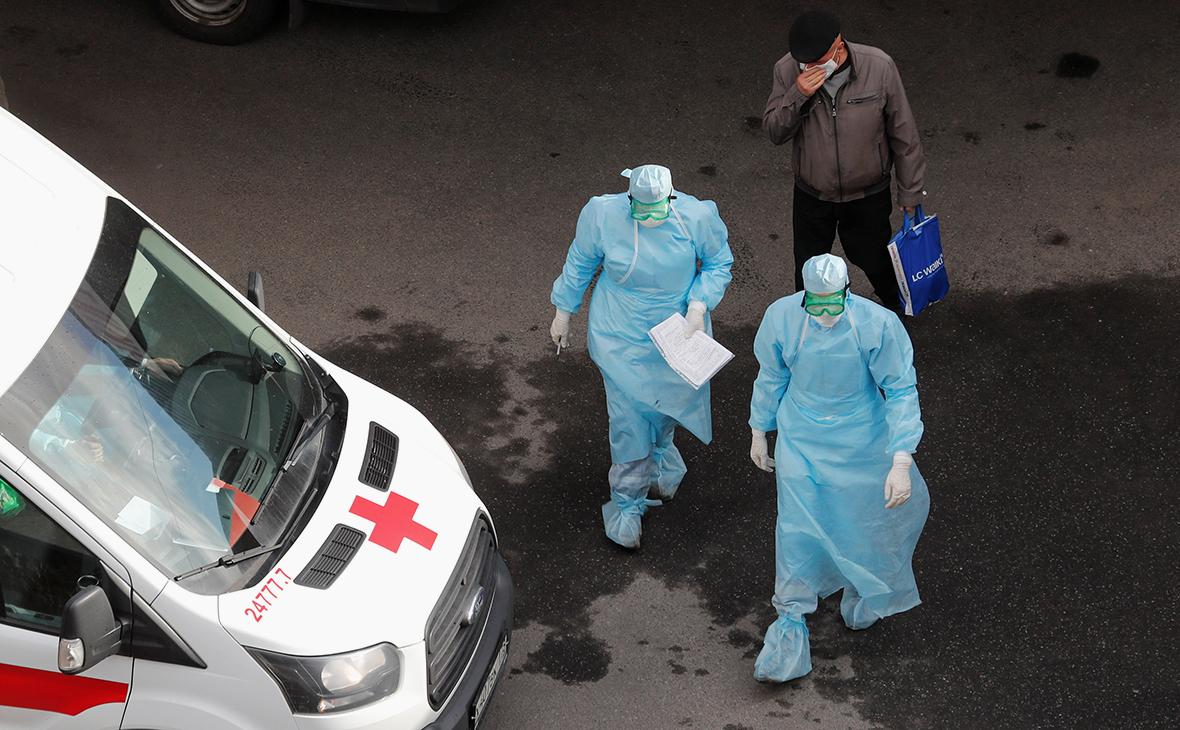 Заболевшие в России на 14 05 2020