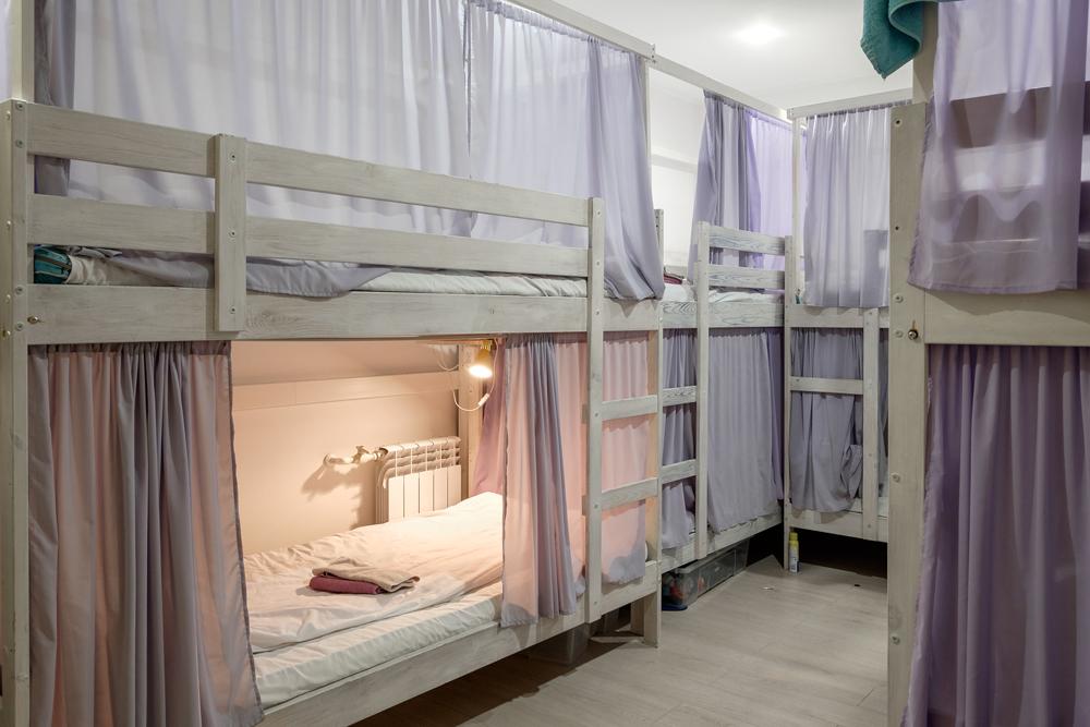 Интерьер хостела FriendHouse в Москве