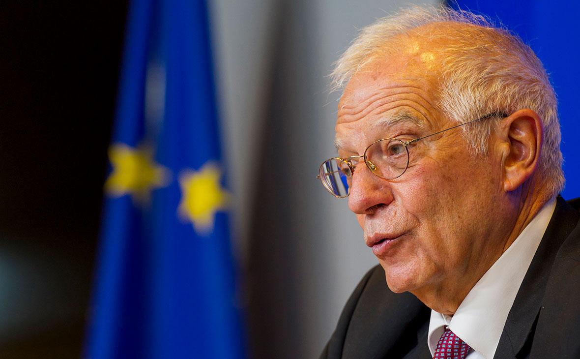 Верховный представитель союза по внешней политике и политике безопасности ЕС Жозеп Боррель